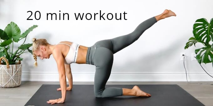 20 Minute Home Workout [9-6 Job People]