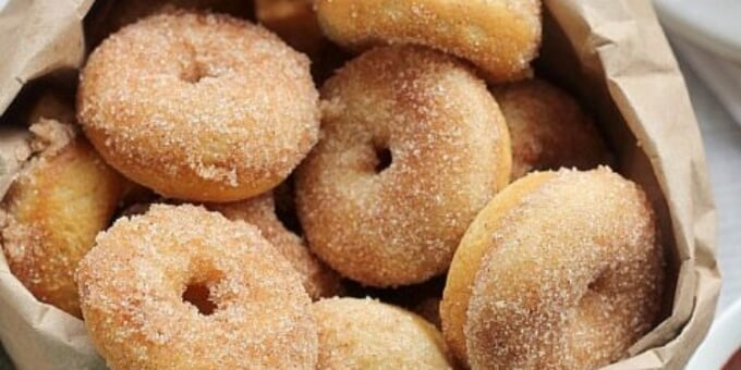Mini doughnuts with beer in 5 minute Preparation Time