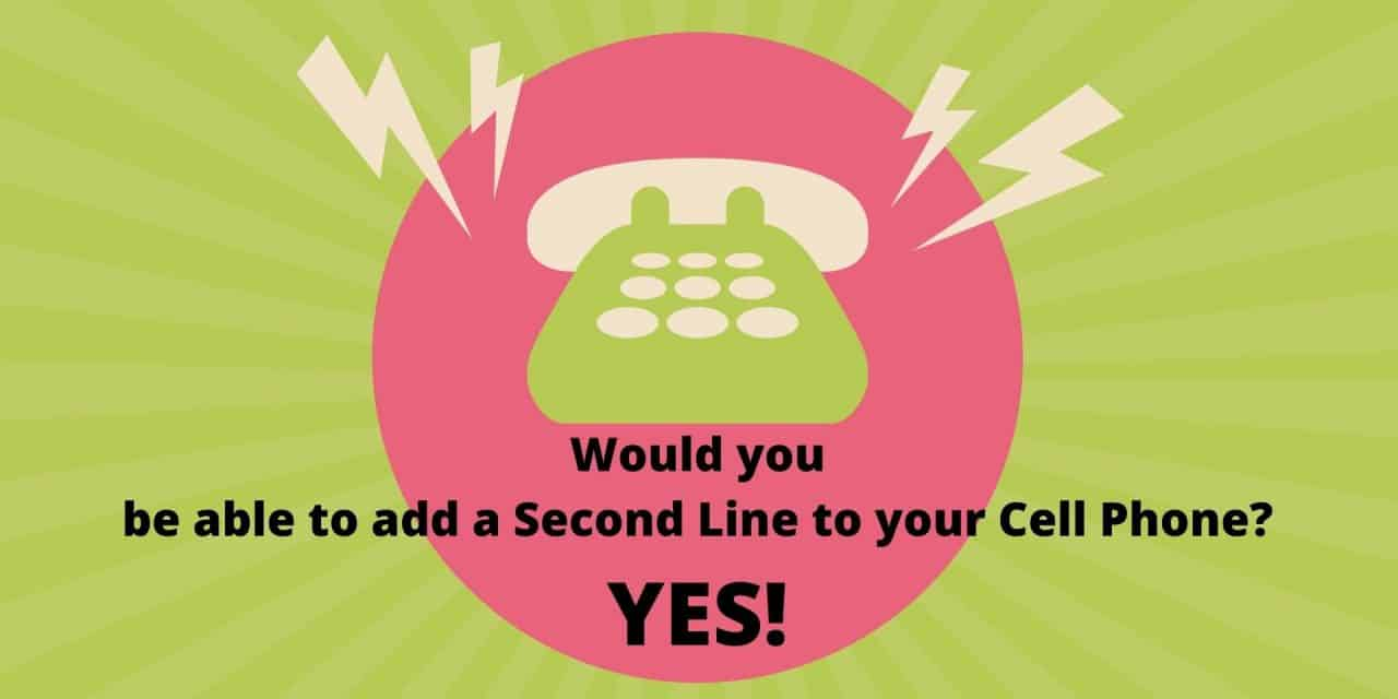 Would you be able to add a Second Line to your Telephone Device? – Yes!